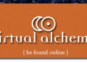 Virtual Alchemy branding
