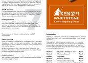 Whetstone Sharpening Guide
