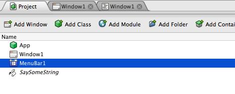 REALBasic GUI's for AppleScript – chapter 1 | Menantol